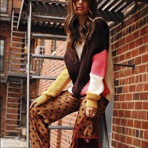 New Zara Polka Dot Pants Size XS
